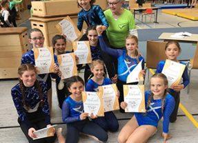 Kreisschülerwettkampf der Mädchen in Opfingen