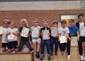 Opfinger Buben erfolgreich am Kreisschülerwettkampf