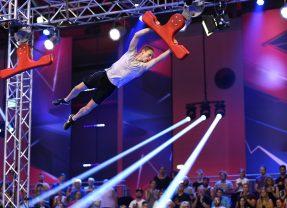 Marian im Ninja Warrior Germany Finale