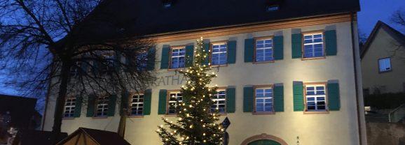 Frohe Weihnachten und alles Gute fürs neue Jahr